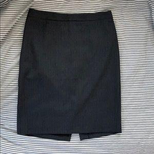 J crew no. 2 pencil skirt grey wool size 2